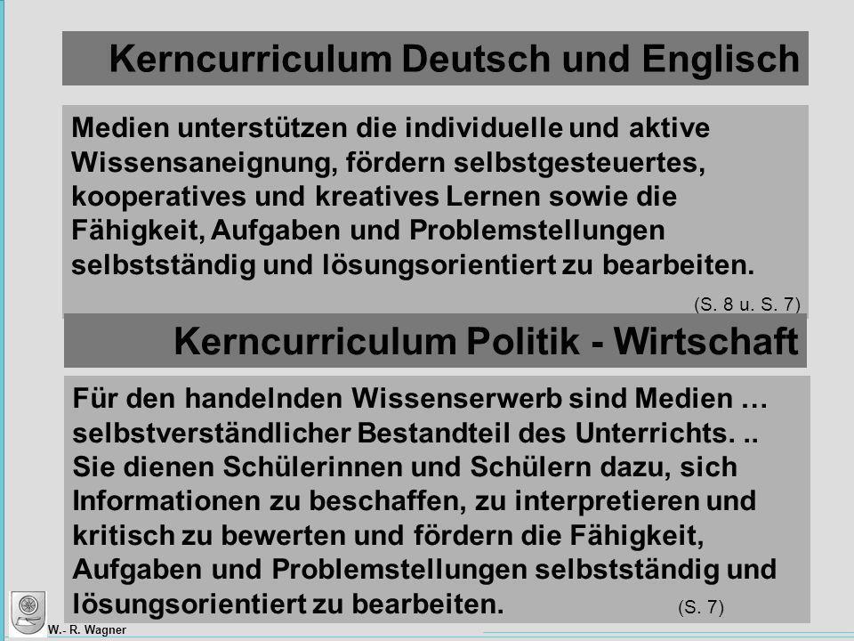 Kerncurriculum Deutsch und Englisch