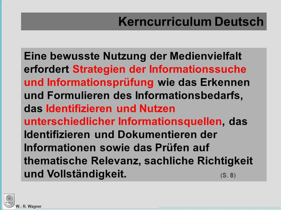 Kerncurriculum Deutsch