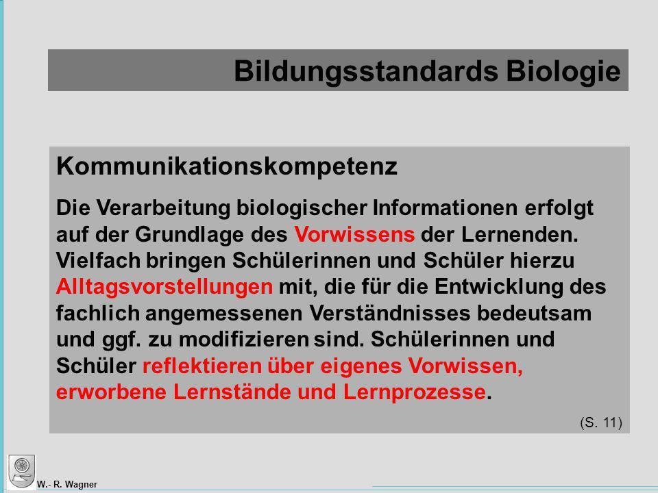 Bildungsstandards Biologie