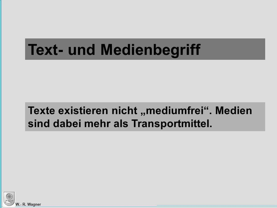 Text- und Medienbegriff