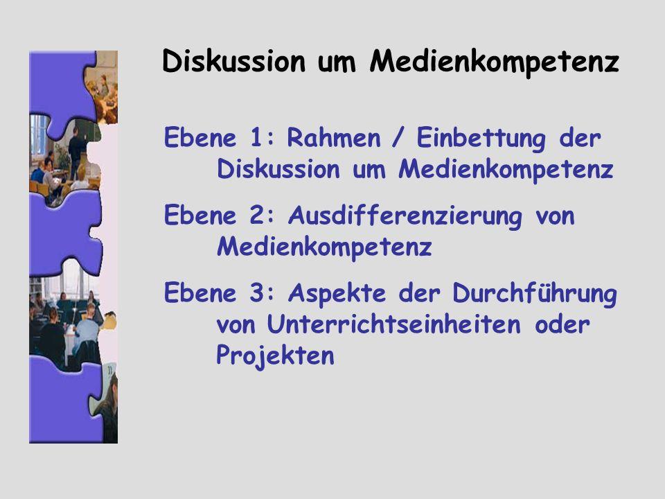 Diskussion um Medienkompetenz