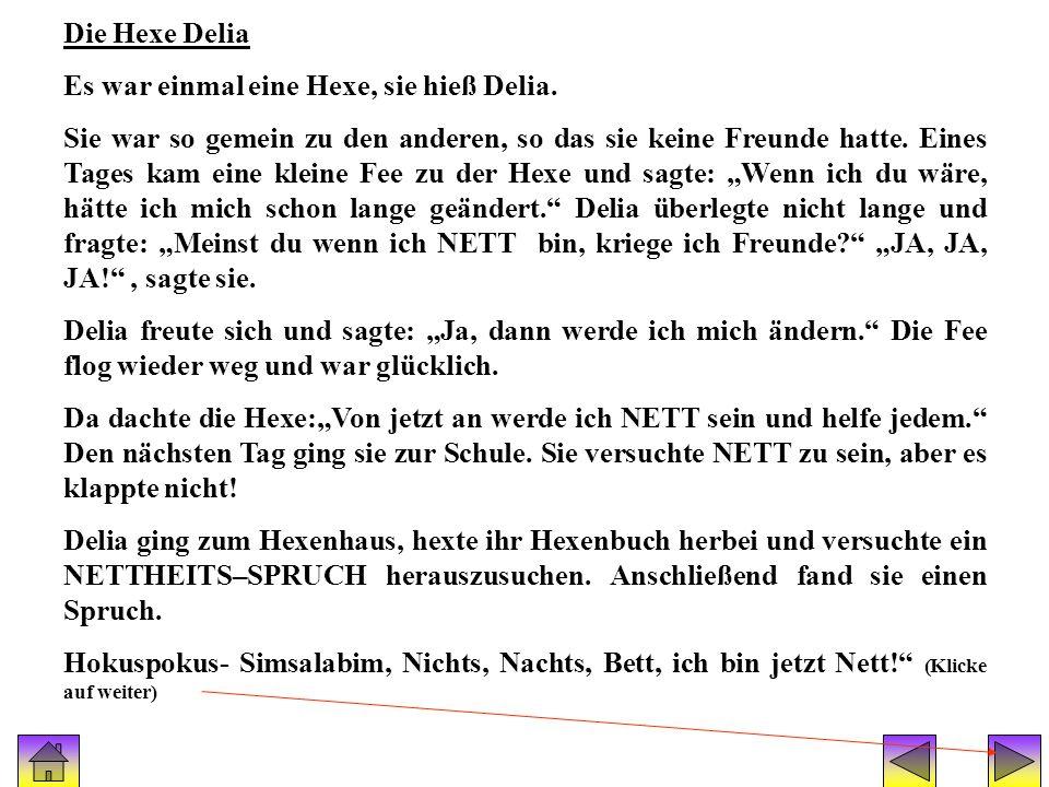Geschichte(hexe delia)