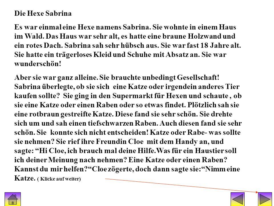 Geschichte Sabrina Die Hexe Sabrina