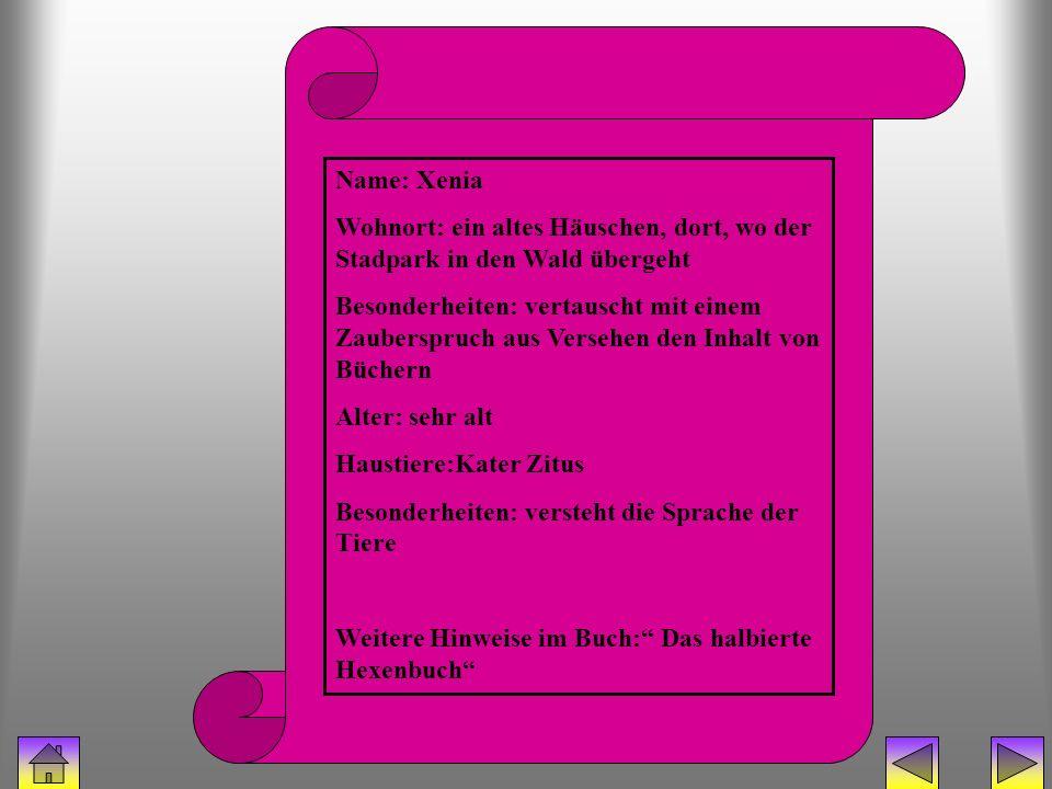 bücherhexe (Xenia) Name: Xenia