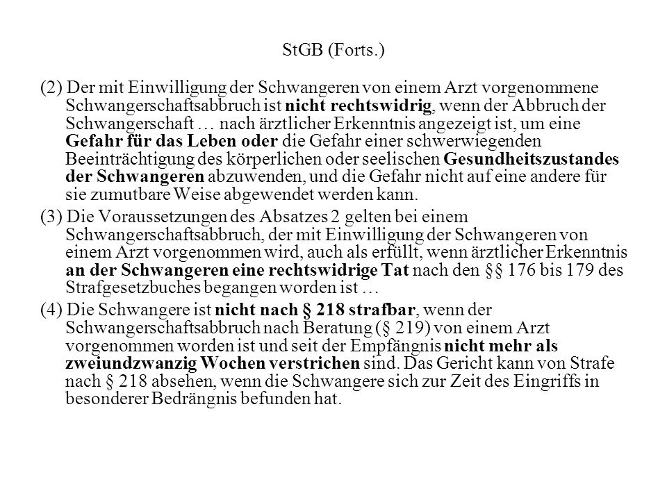 StGB (Forts.)