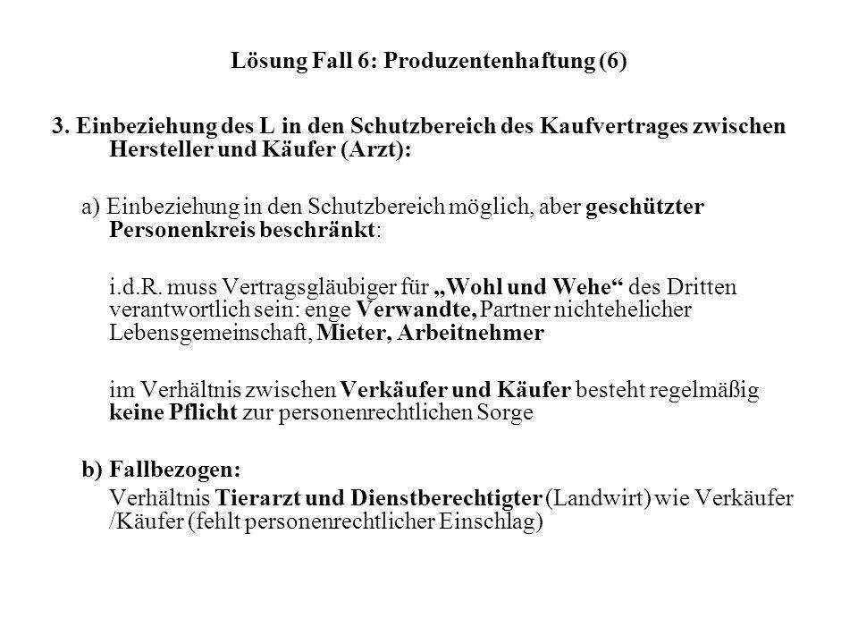 Lösung Fall 6: Produzentenhaftung (6)