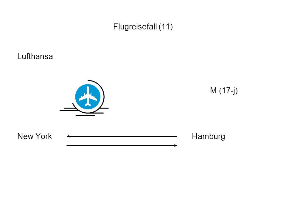 Flugreisefall (11) Lufthansa.