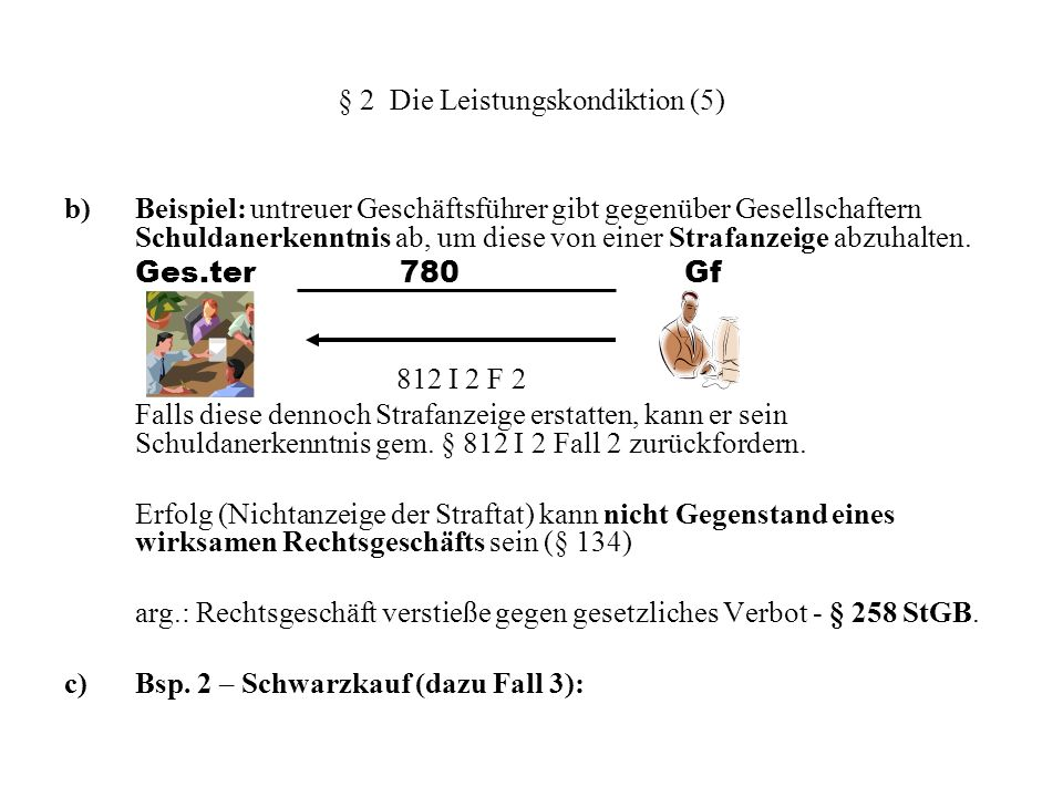 § 2 Die Leistungskondiktion (5)