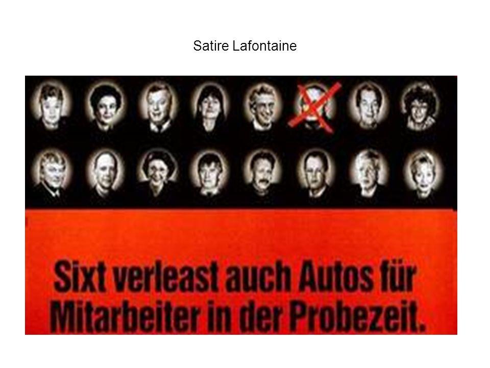 Satire Lafontaine