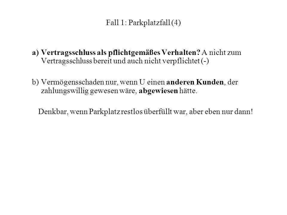 Fall 1: Parkplatzfall (4)
