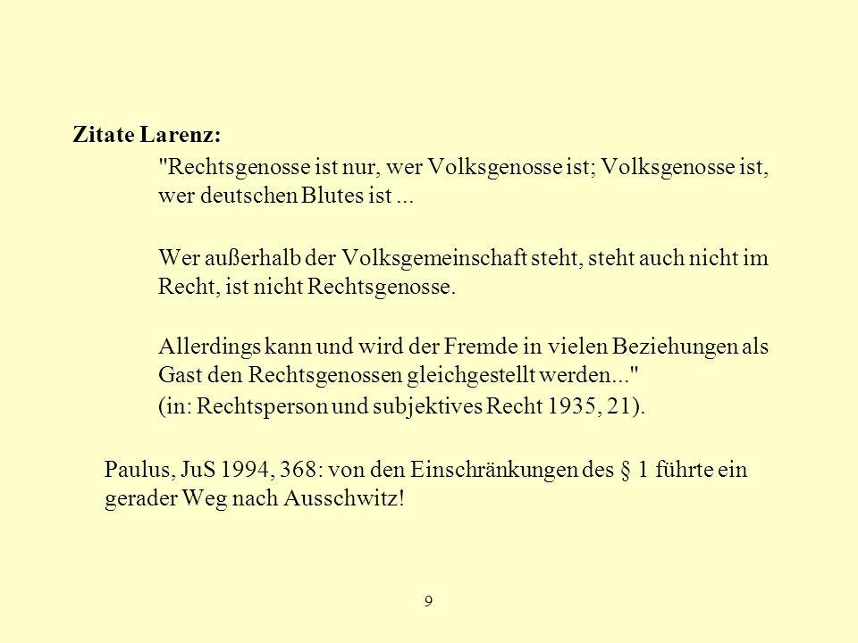 (in: Rechtsperson und subjektives Recht 1935, 21).