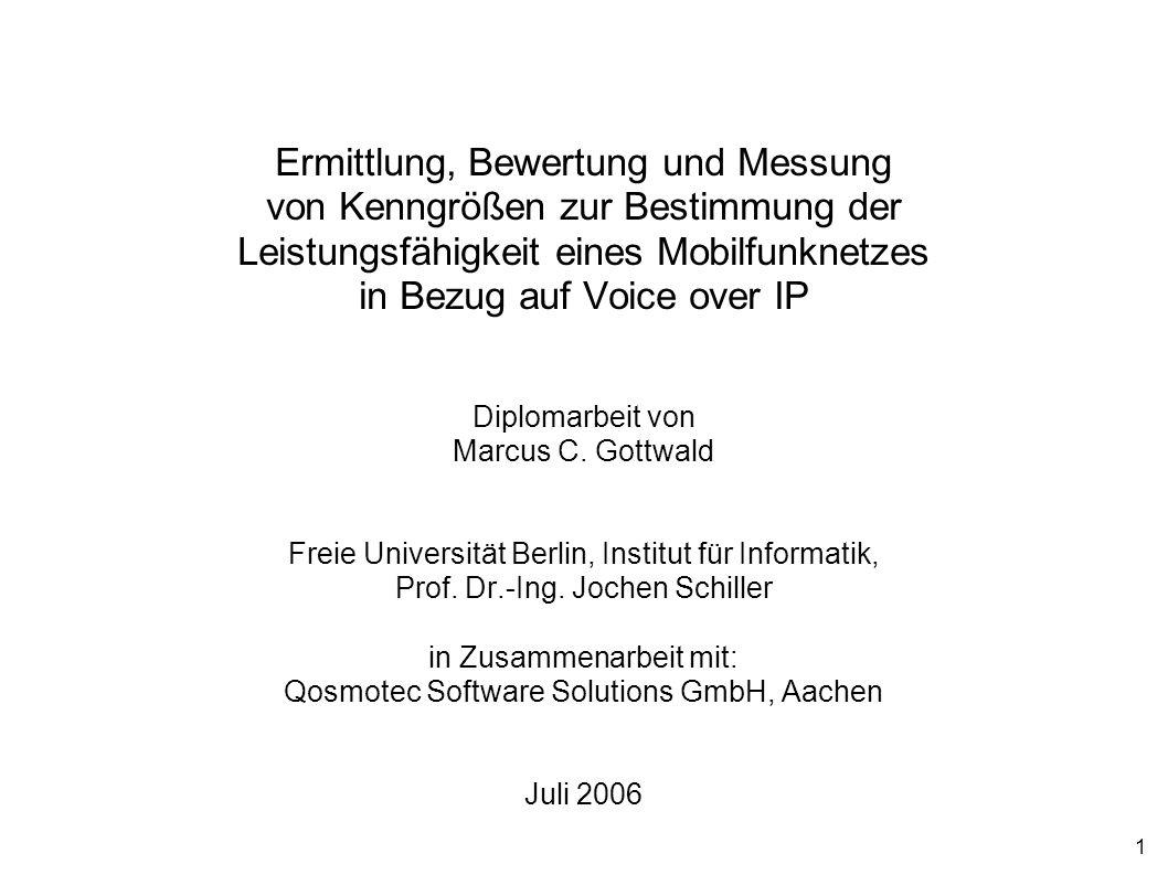 Titelblatt Ermittlung, Bewertung und Messung