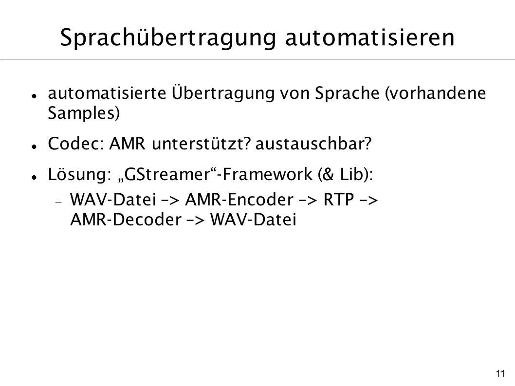 Sprachübertragung automatisieren