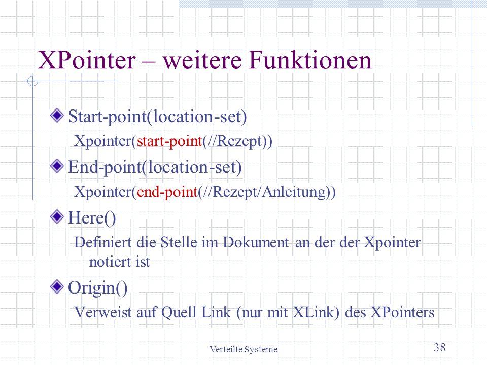 XPointer – weitere Funktionen