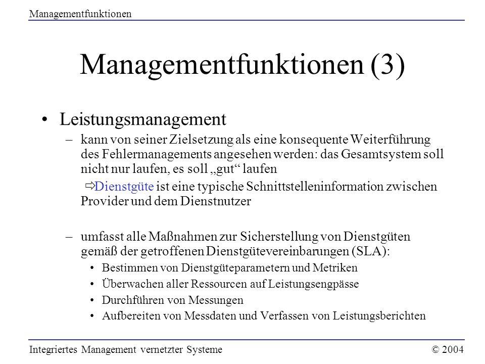 Managementfunktionen (3)