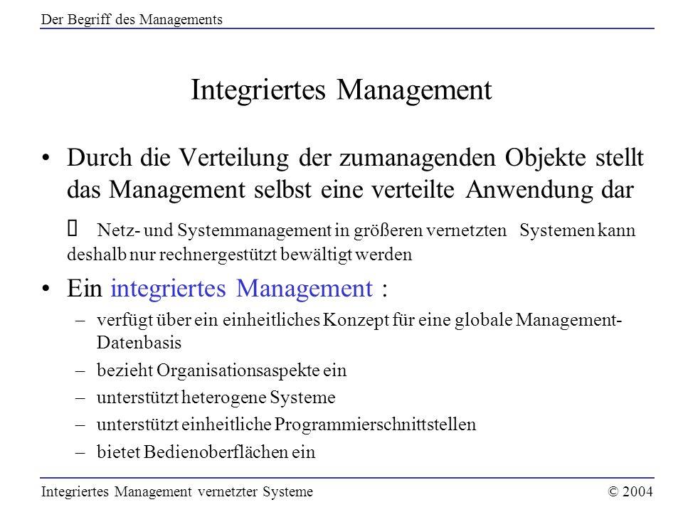 Integriertes Management