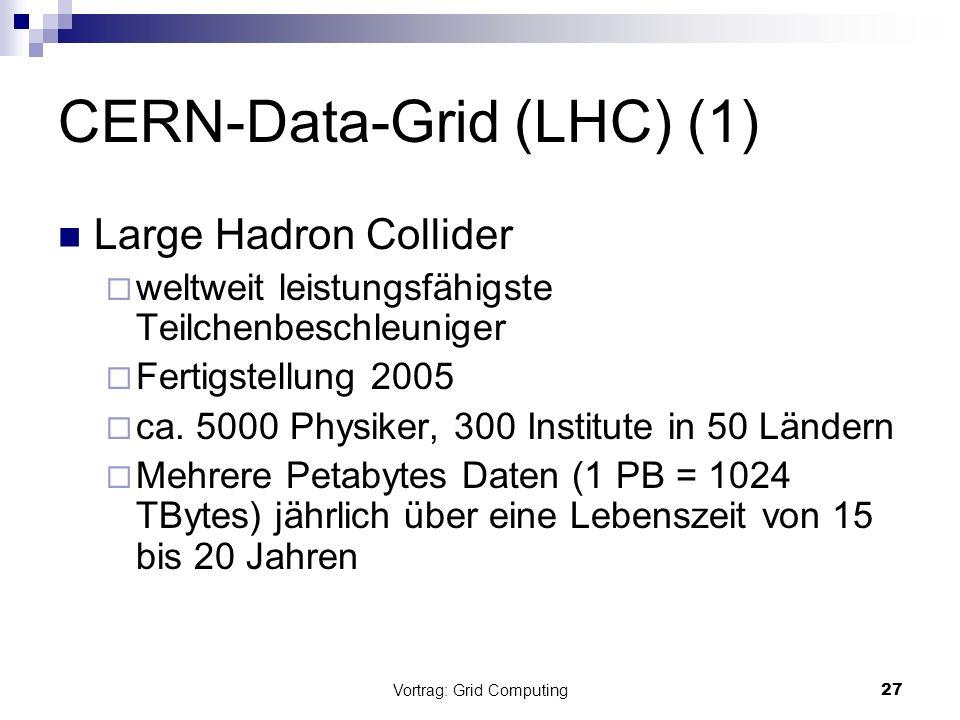 CERN-Data-Grid (LHC) (1)