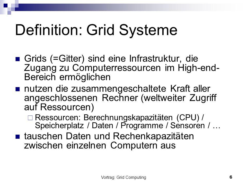 Definition: Grid Systeme