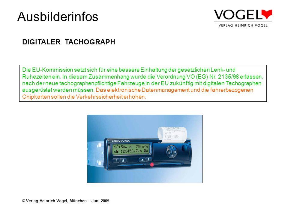 DIGITALER TACHOGRAPH