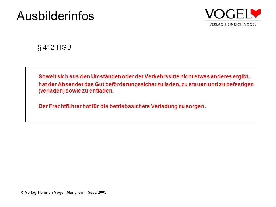 § 412 HGB