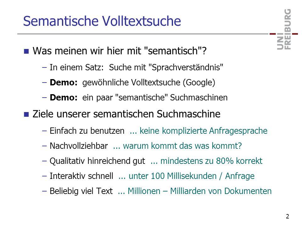 Semantische Volltextsuche