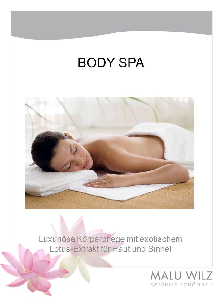 BODY SPA Luxuriöse Körperpflege mit exotischem