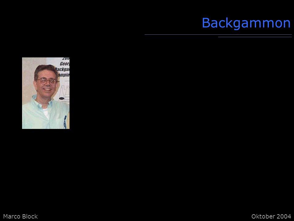 Backgammon kurze Schachprogrammiereinführung als Basis