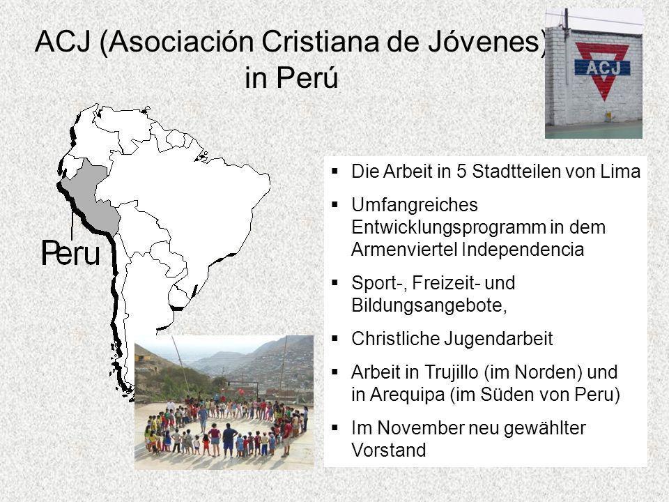 ACJ (Asociación Cristiana de Jóvenes) in Perú
