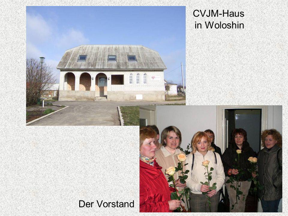 CVJM-Haus in Woloshin Der Vorstand