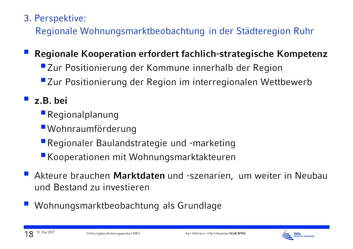 Regionale Kooperation erfordert fachlich-strategische Kompetenz