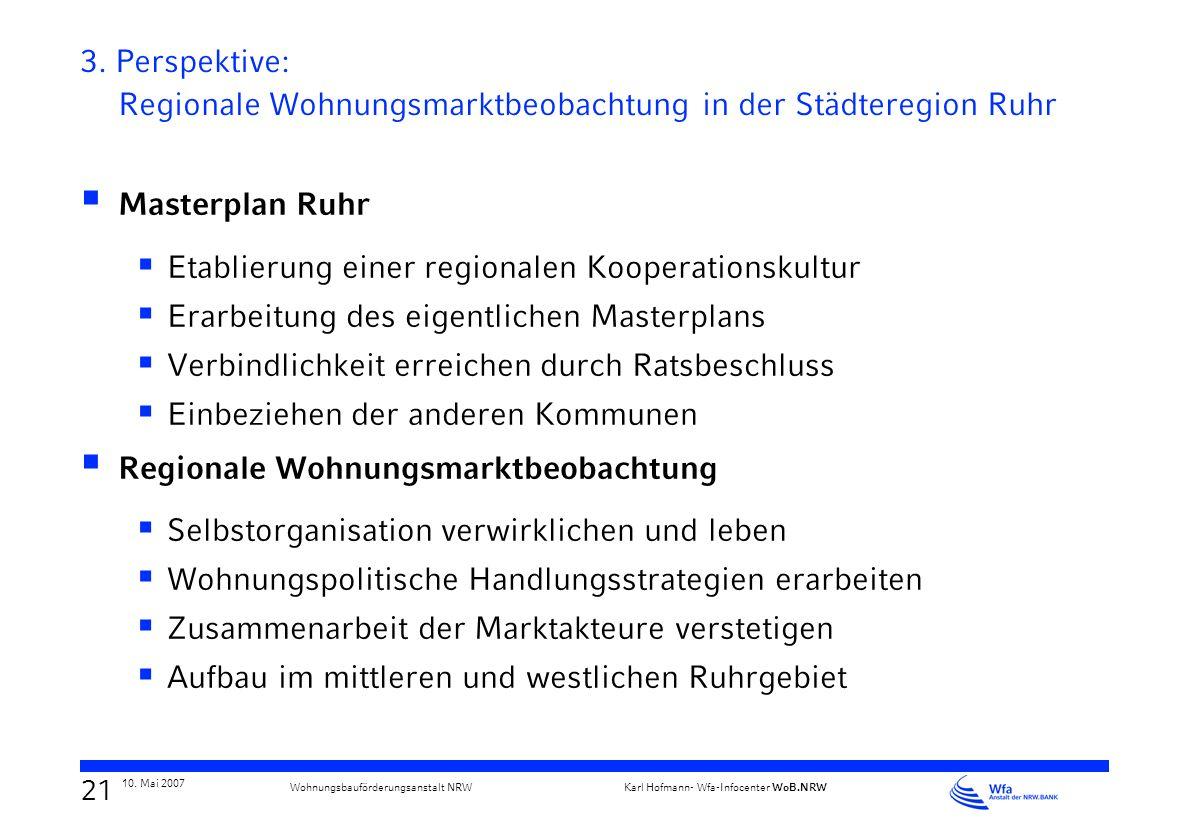 Etablierung einer regionalen Kooperationskultur