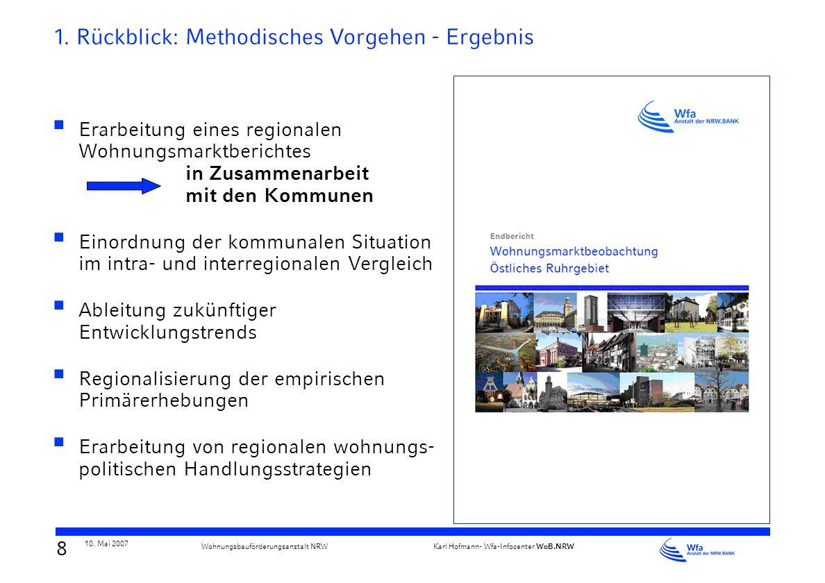 1. Rückblick: Methodisches Vorgehen - Ergebnis