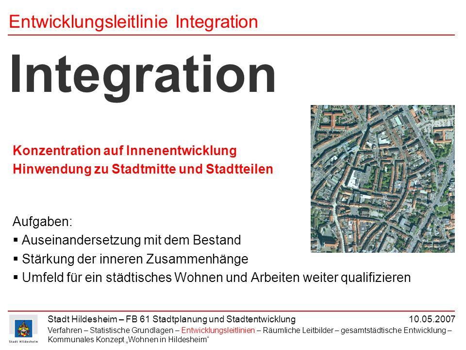 Entwicklungsleitlinie Integration