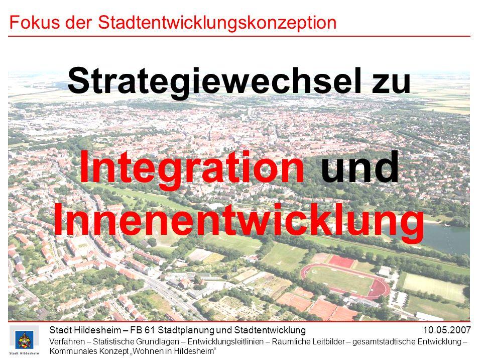 Fokus der Stadtentwicklungskonzeption