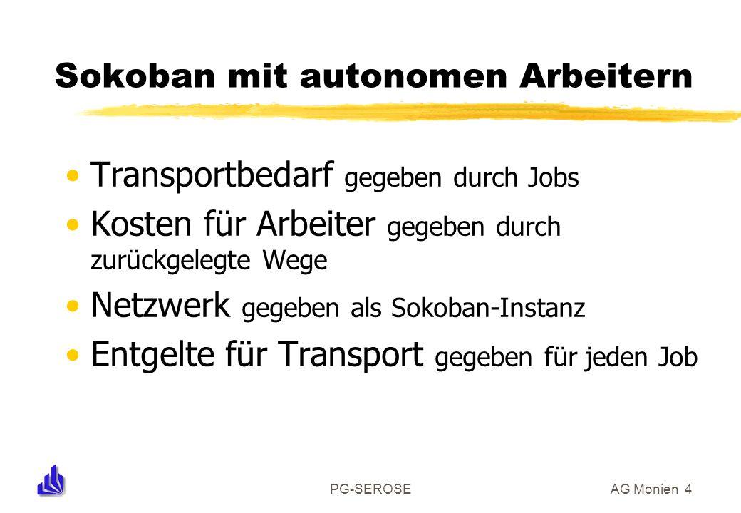 Sokoban mit autonomen Arbeitern