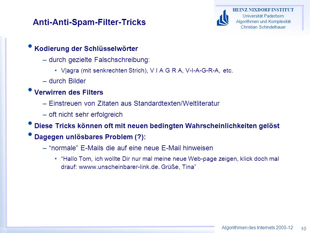 Anti-Anti-Spam-Filter-Tricks