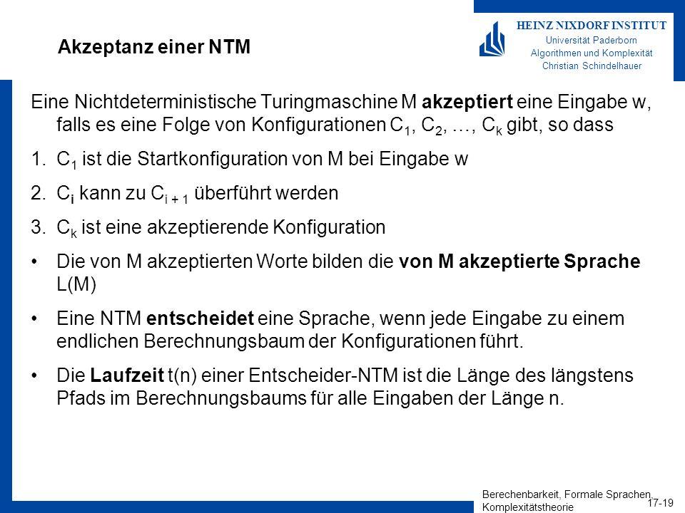 Akzeptanz einer NTM