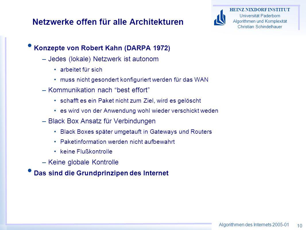 Netzwerke offen für alle Architekturen