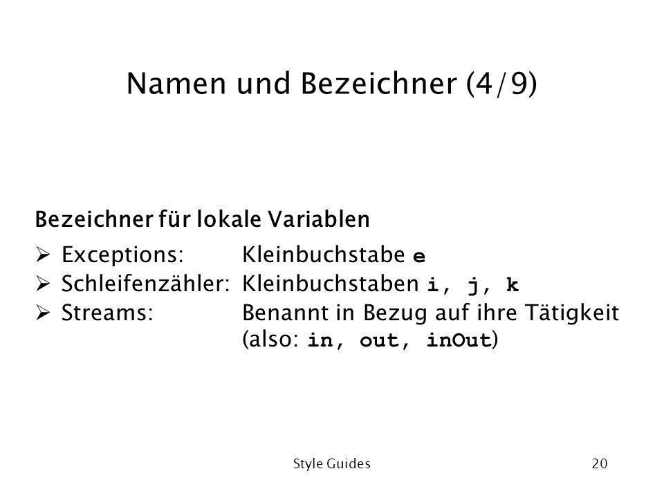 Namen und Bezeichner (4/9)