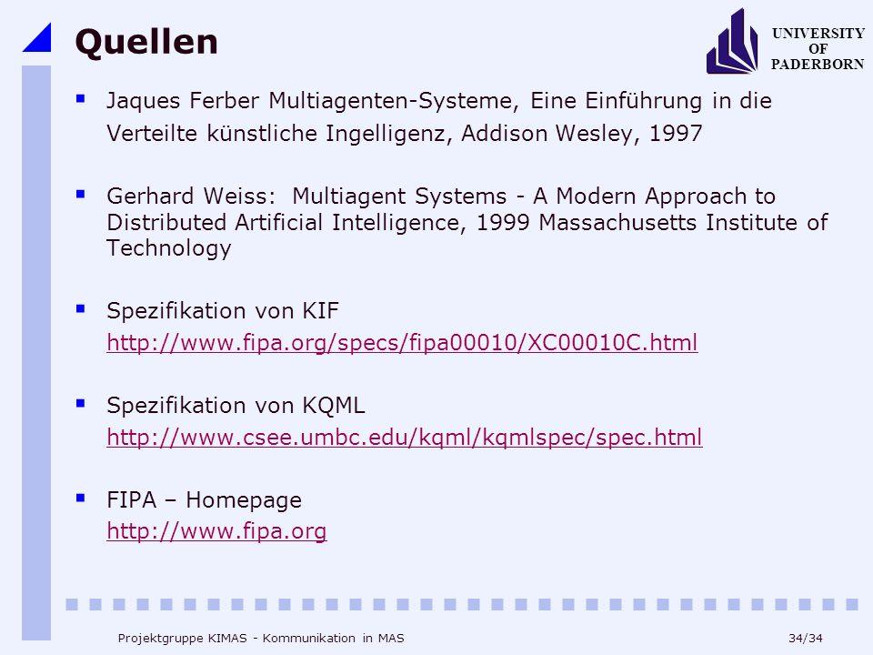 Quellen Jaques Ferber Multiagenten-Systeme, Eine Einführung in die