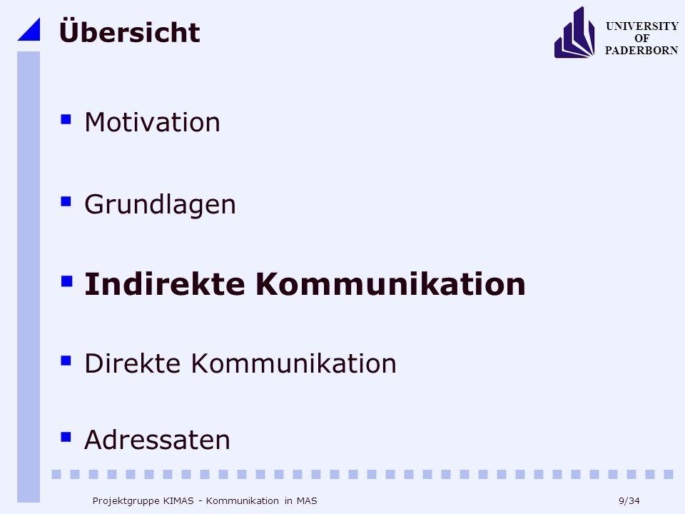 Indirekte Kommunikation