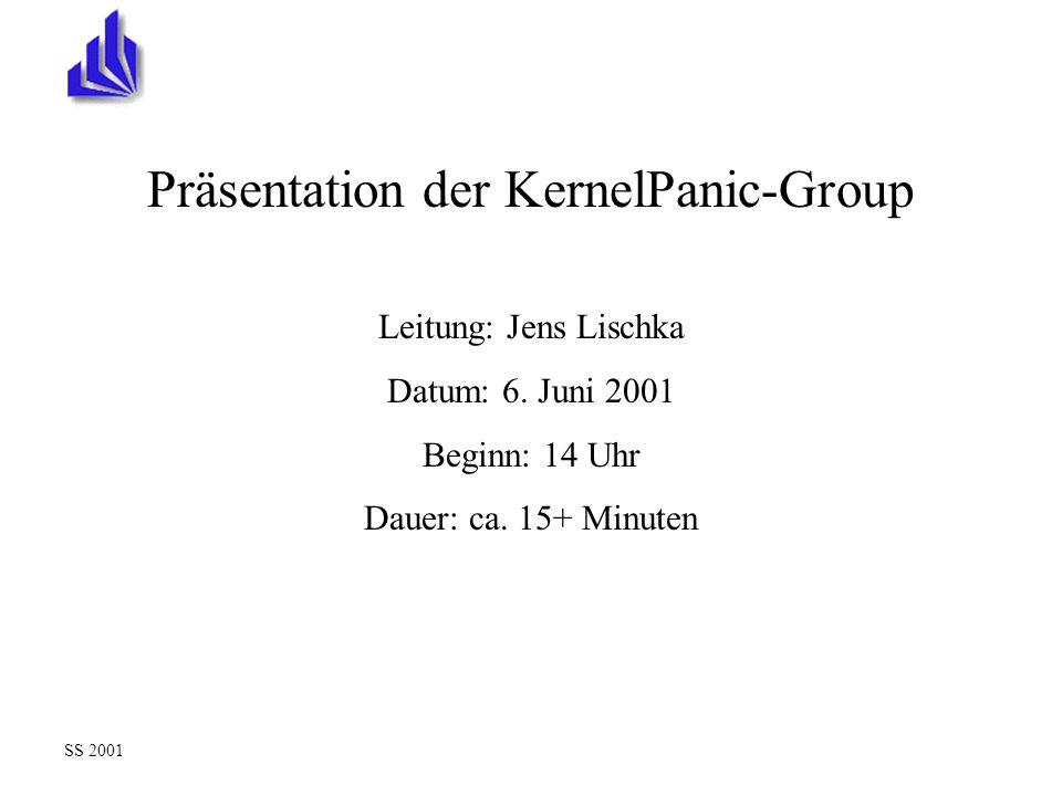 Präsentation der KernelPanic-Group