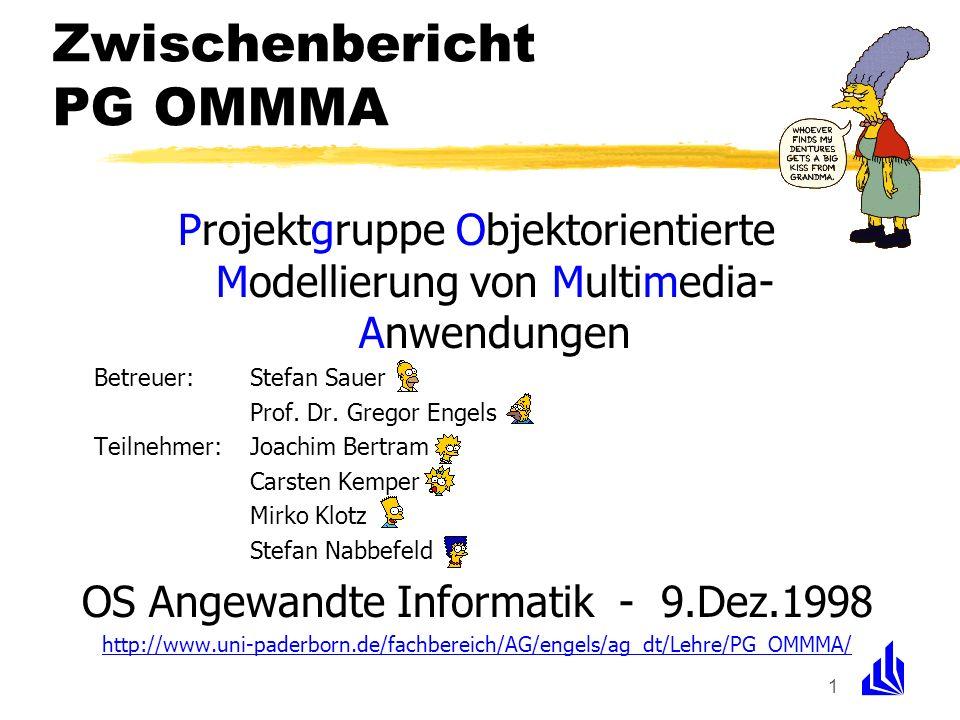 Zwischenbericht PG OMMMA