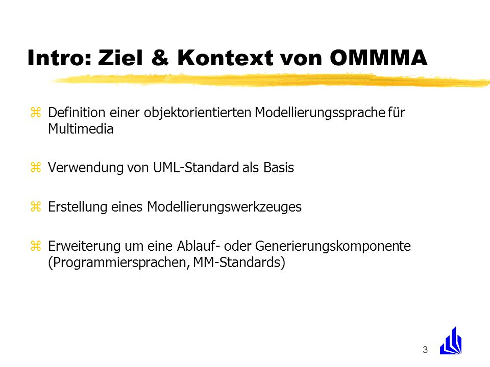 Intro: Ziel & Kontext von OMMMA