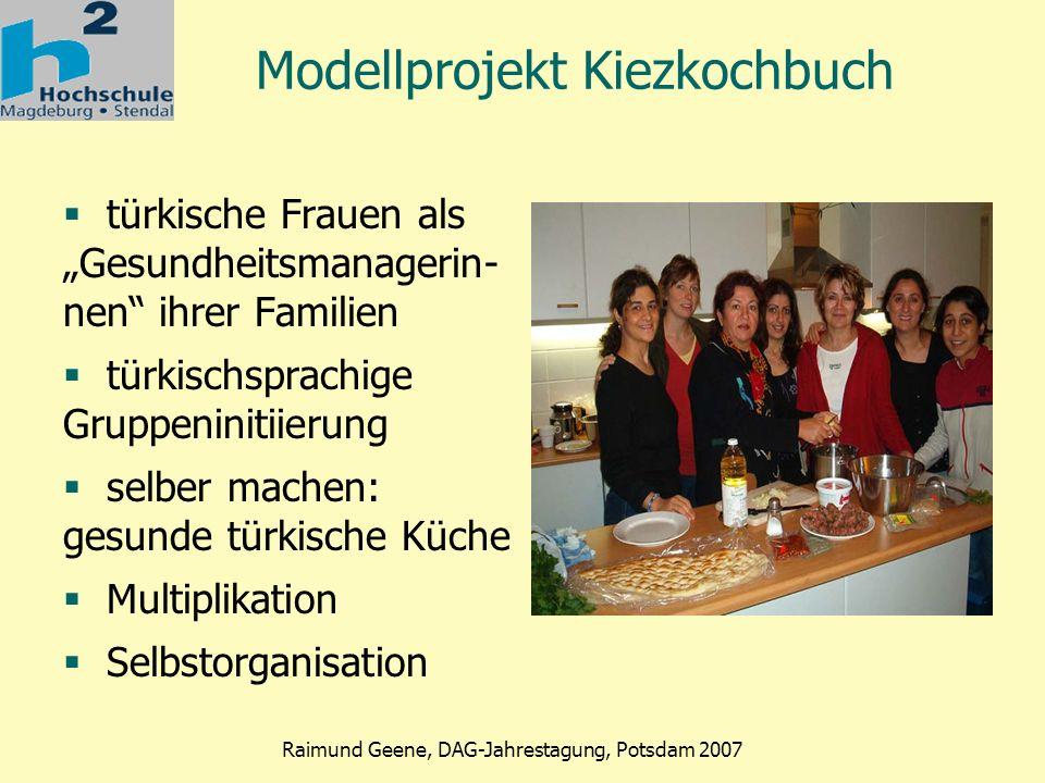 Modellprojekt Kiezkochbuch