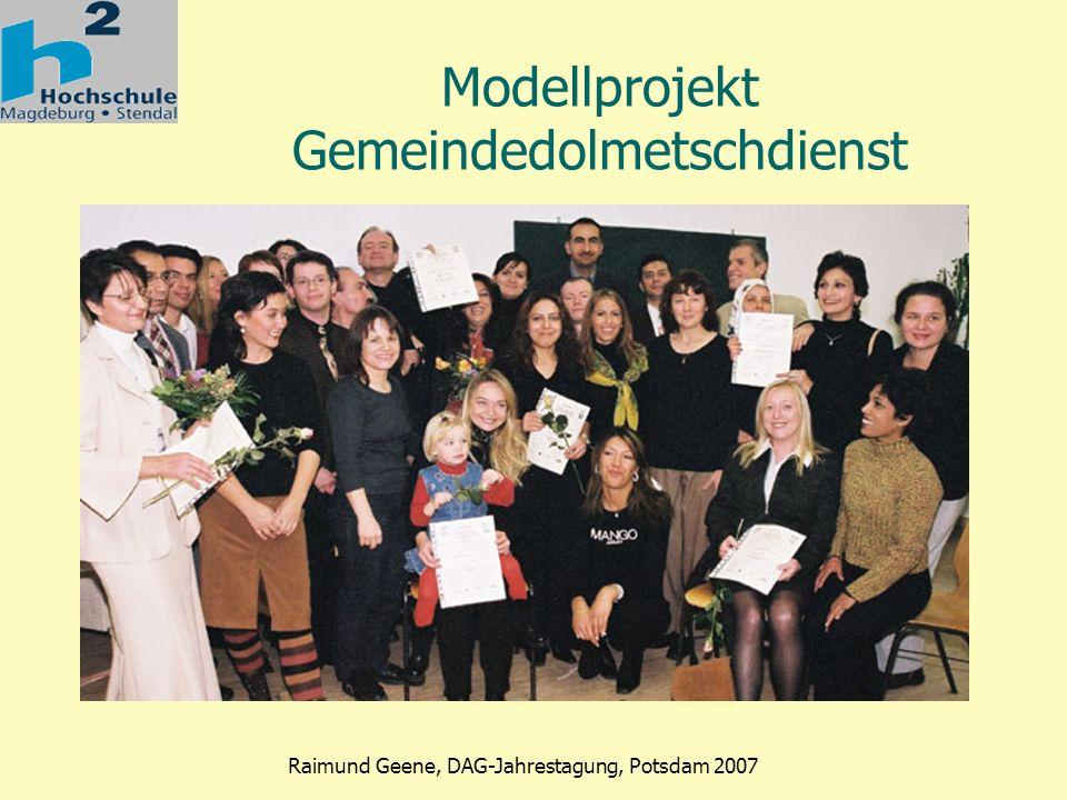Modellprojekt Gemeindedolmetschdienst