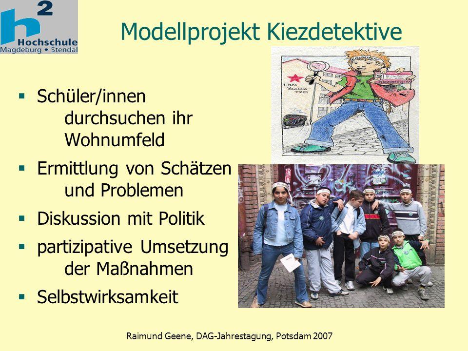 Modellprojekt Kiezdetektive