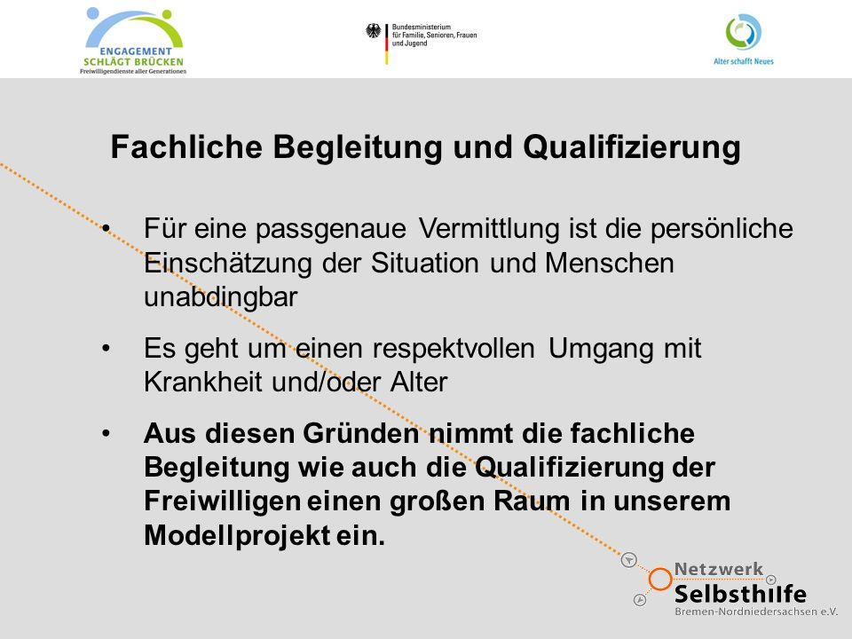 Fachliche Begleitung und Qualifizierung