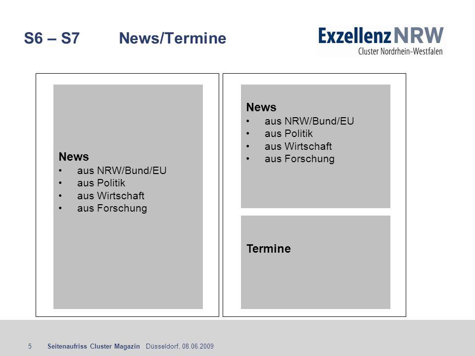 S6 – S7 News/Termine News News Termine aus NRW/Bund/EU aus Politik