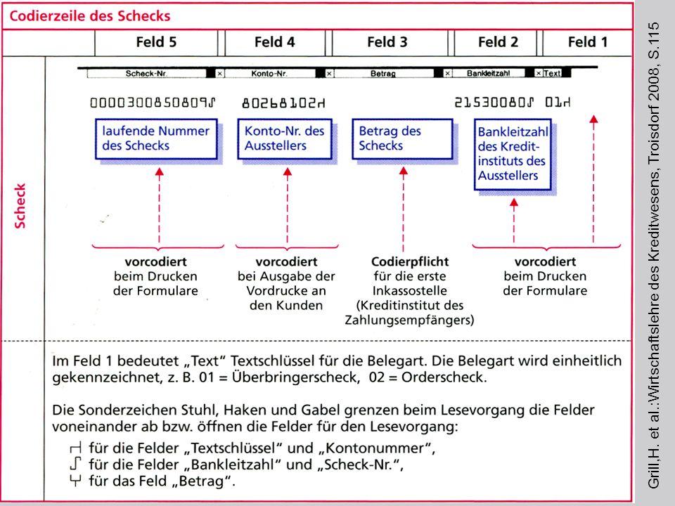Grill,H. et al. :Wirtschaftslehre des Kreditwesens, Troisdorf 2008, S